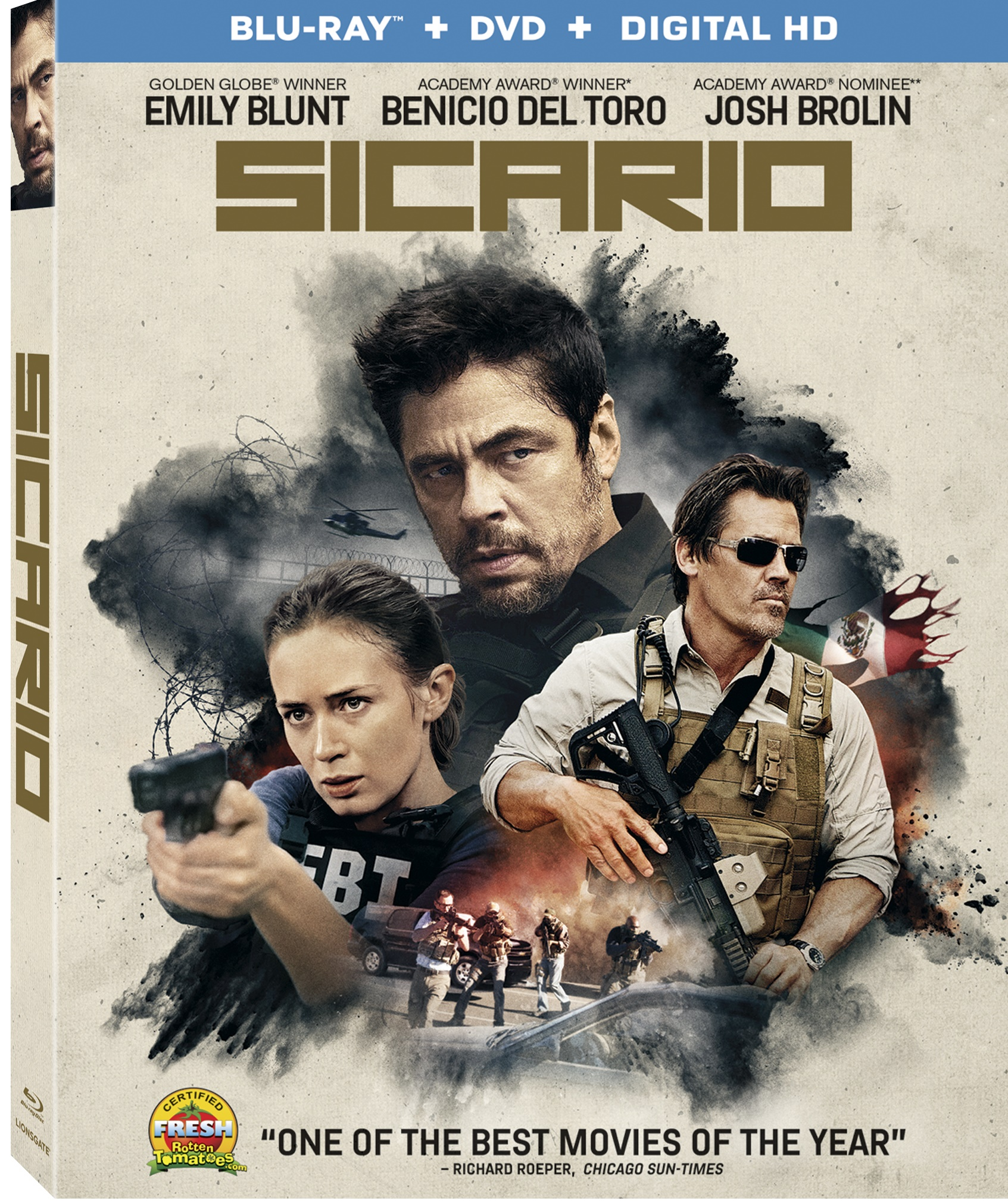 Sicario DVD Review: Drug War Drama Packs a Punch – The Movie