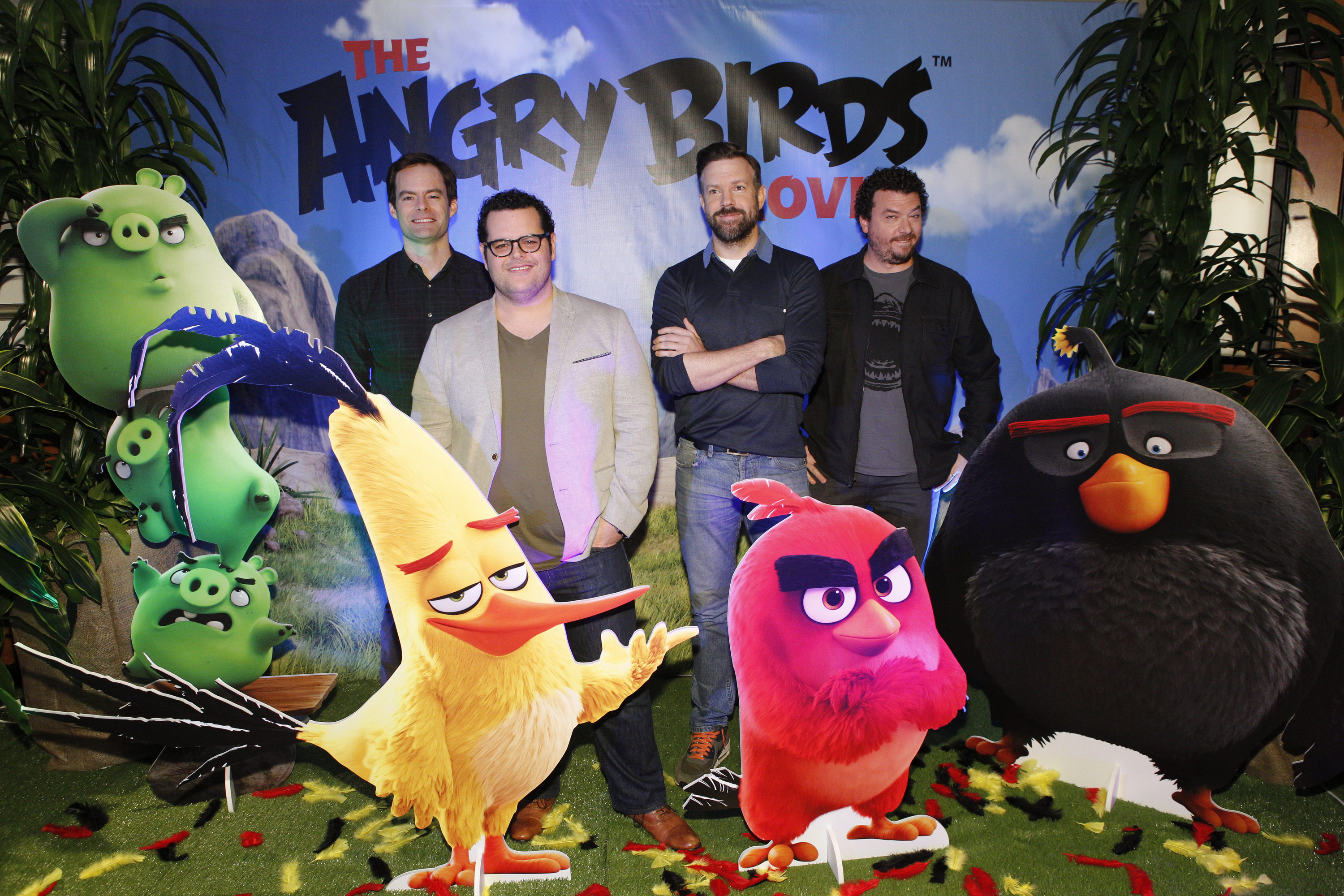 Angry Birds Movie Characters: Angry Birds Movie Preview: Cast Chats Bringing Phenomenon