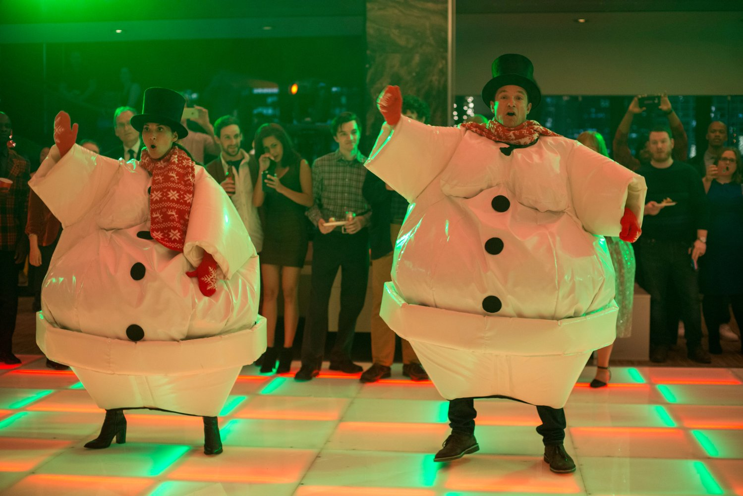 Office Christmas Party Review: Deck the Halls With Balls of Bateman ...