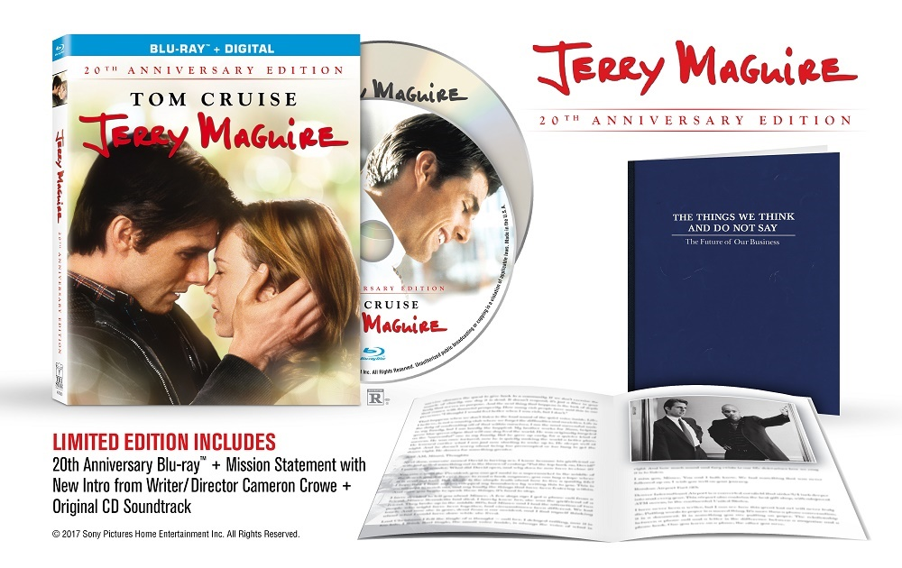 jerry maguire movie reaction and review Jerry maguire blu-ray see jerry maguire blu-ray review published by ben williams on jerry maguire is certainly not a flashy movie in the sound.