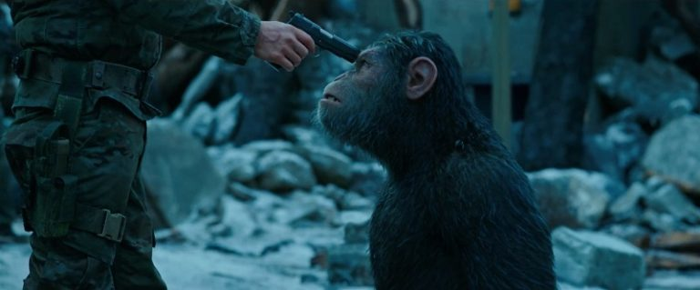Планета обезьян война фильм 2018 зона