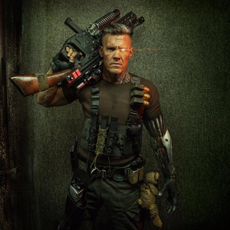 Deadpool 2: First Look at Josh Brolin as Cable – The Movie ...
