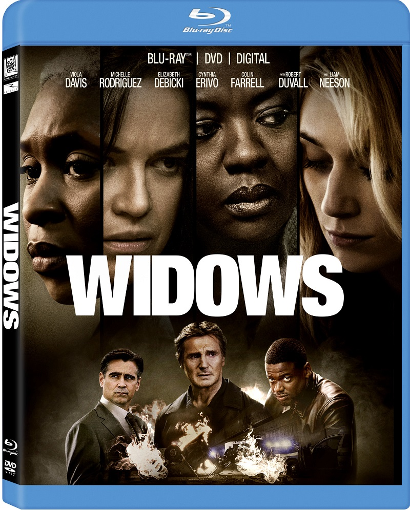 Widows Blu-Ray Review: One Hell of a Heist! – The Movie Mensch